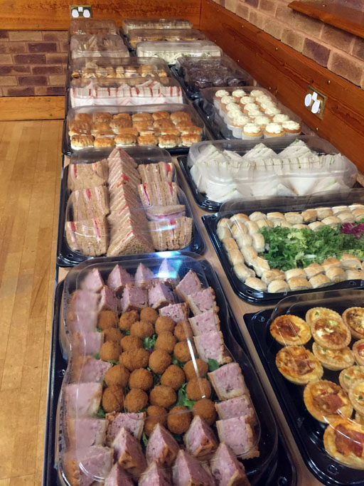 funeral,buffet,chesterfield,walton
