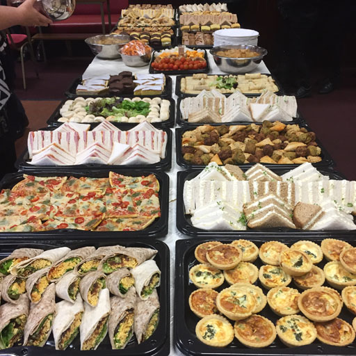 funaerla,buffet,caterer,chesterfield,garnish,catering,derbyshire